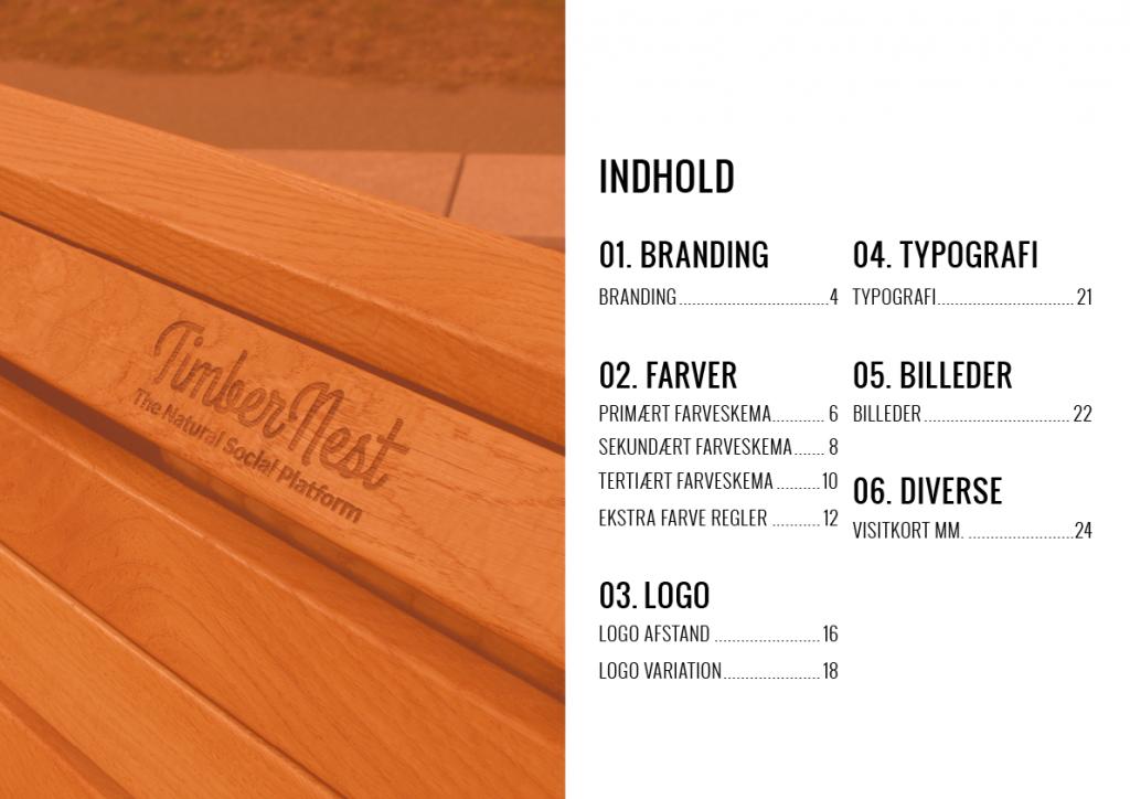 Design manual index page.